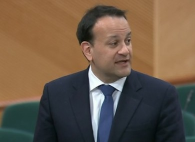 Varadkar said he does not want the country to lose another generation again.