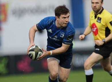 Luke McGrath captains Leinster.
