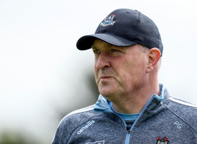Dublin's 2011 All-Ireland SFC winning boss Pat Gilroy.