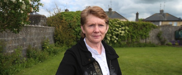 Catherine Corless pictured at the Tuam site in 2014