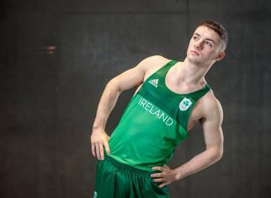 European champion and World Championship bronze medal-winning gymnast Rhys McClenaghan.