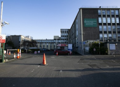 File image of the Coombe Hospital.