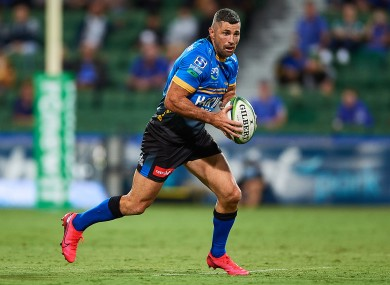 Kearney has spent five weeks out injured (file photo).