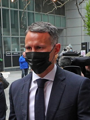 Ryan Giggs arrives in court today