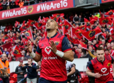Zebo is set for a return to Munster.