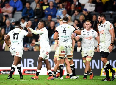 The Sharks were due to travel to Europe next month for the Rainbow Cup.