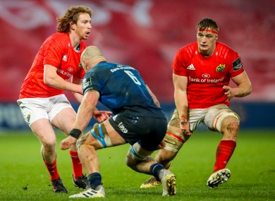 Healy and Coombes have shone for Munster.