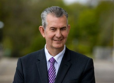 New DUP leader Edwin Poots.