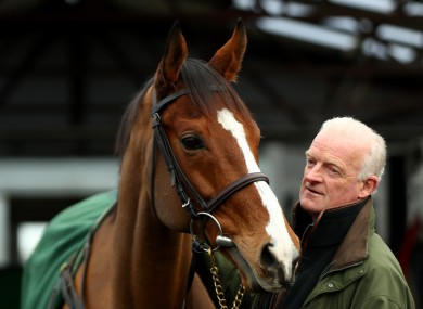 Faugheen and Willie Mullins.