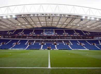 The Estadio do Dragao will host the final.