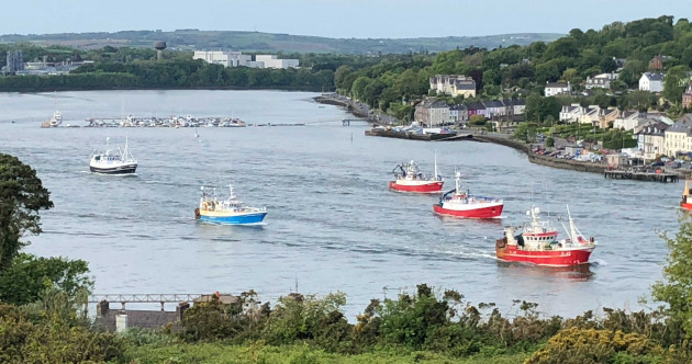 Fishermen angry over Brexit and new quotas are sailing into Cork to march on Taoiseach's office