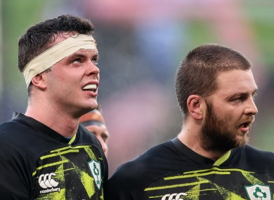 James Ryan and Iain Henderson are both hoping to be included in Warren Gatland's Lions squad.