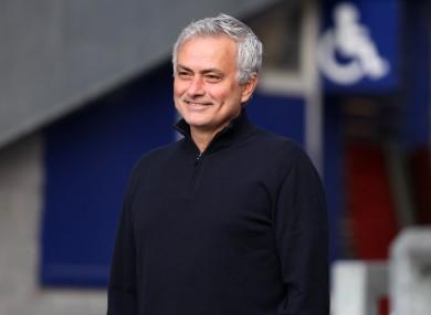 Jose Mourinho: next manager of Roma.