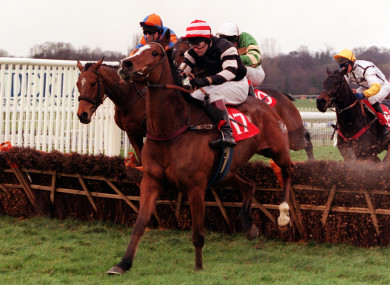 Magic Combination won the Imperial Cup for Curley in 2000.