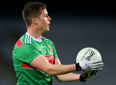Stephen Coen is named to captain Mayo on Sunday.