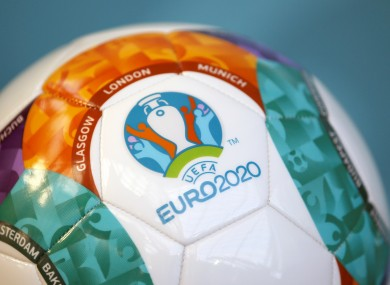 Euro 2020 kicks-off in June.