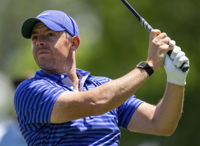 Rory McIlroy had a strong day at Quail Hollow.