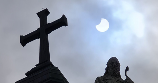 Photos: A partial eclipse was visible over Ireland this morning - here are your pics