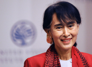 Aung San Suu Kyi stands trial today.