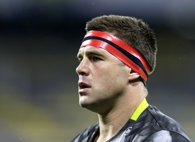Munster's CJ Stander was one of four players injured in a fire pit accident.