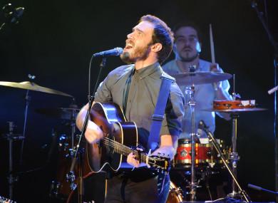 Irish singer-songwriter James Vincent McMorrow