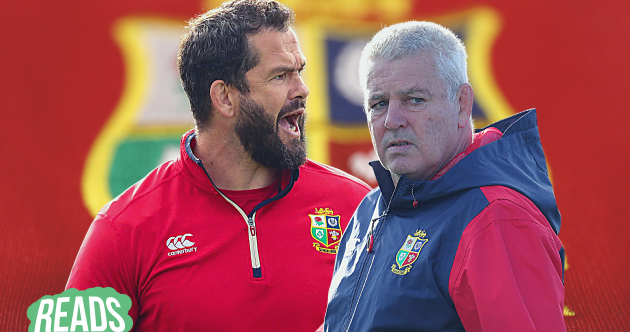 A different mentality: Why Warren Gatland is still keeping the door open for Andy Farrell
