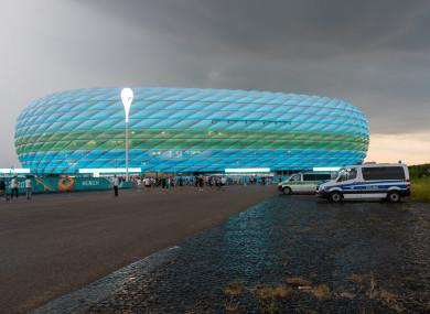 Allianz Arena (file pic).