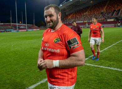 Cronin left Munster at the end of their 2020/21 season.
