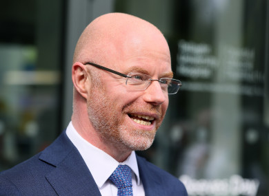 Health Minister Stephen Donnelly (file photo)