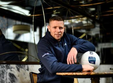 Kerry legend Tomás Ó Sé pictured at the launch of the Allianz League Legends series.