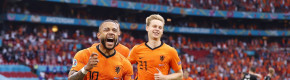 Depay and Dumfries send Netherlands into Euro 2020 knockouts