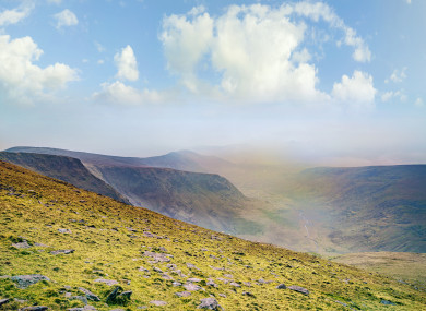 File image on Mount Brandon in Kerry.