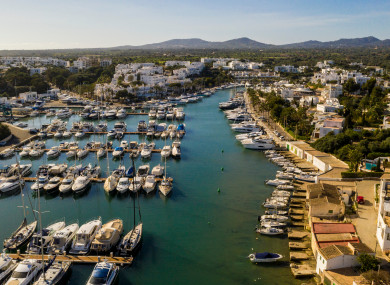Cala D'Or, Majorca where Declan Brady had laundered the Kinahan money in property.