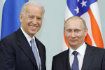 The two leaders during a previous meeting in 2011 - Biden was Vice President at the time and Putin was temporarily in the role of Prime Minister.