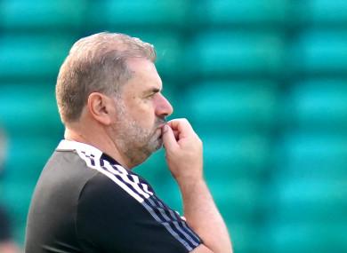 Celtic manager Ange Postecoglou.
