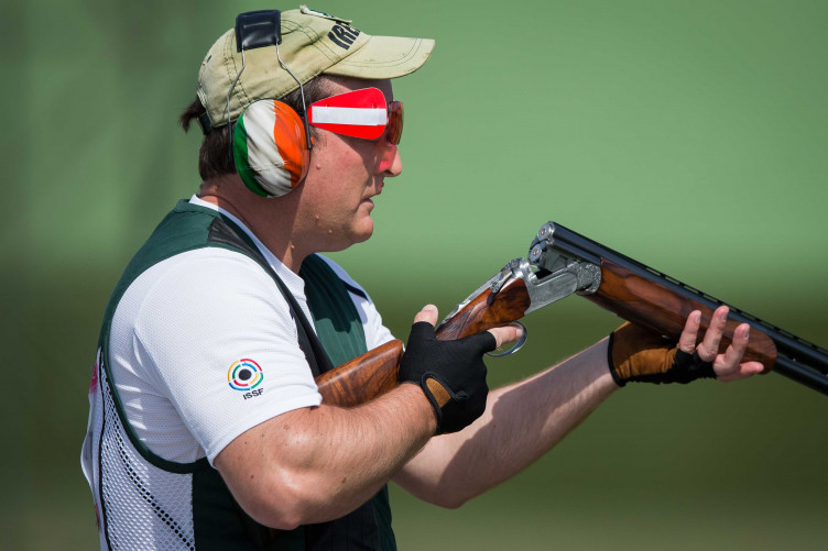 Derek Burnett ends first day of trap shooting in 25th place · The42