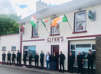 Glynn's Bar in Oranmore Co Galway.
