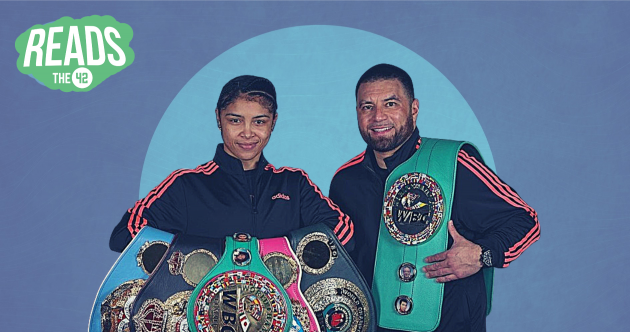From sleeping in a church to the top of the boxing world - with the help of a milk carton