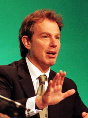 Tony Blair in 1997.