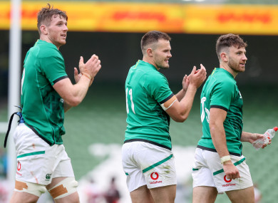 Ireland beat Japan in Dublin.