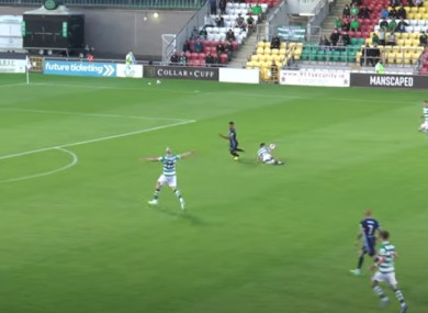 Was Roberto Lopes fouled seconds before Vladimir Weiss struck the decisive goal?