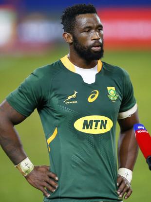 Springboks captain Siya Kolisi.