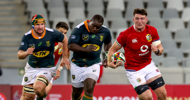 As it happened: South Africa A v British & Irish Lions