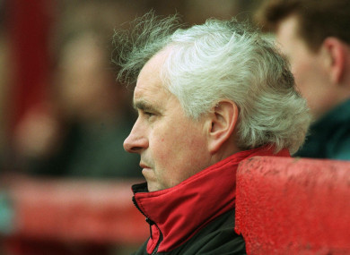 Connolly pictured in 1997.