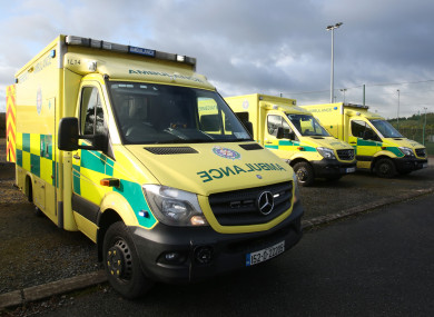 Units of the National Ambulance Service.