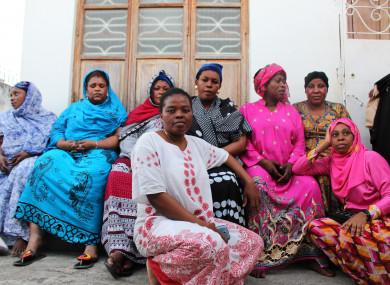 Sex worker rights defenders from Zanzibar, Tanzania.