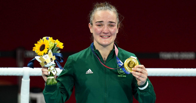 'An inspiration': Ireland sends its congratulations as Kellie Harrington claims gold in Tokyo