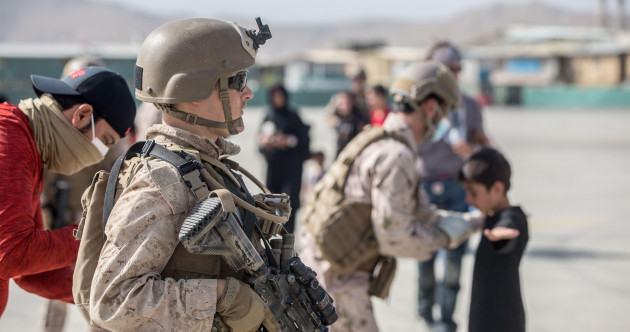 US troops step up evacuations out of Kabul but Taliban warns over 'red line'