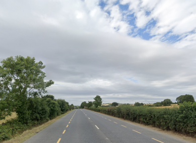 The R772 at Scarawalsh (file photo)