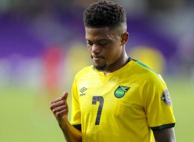 Leon Bailey has 10 caps for Jamaica.